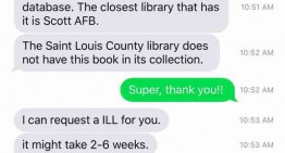 Texting My Public Library